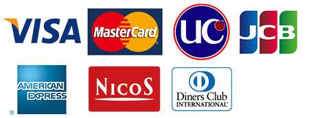 使用可能カード会社