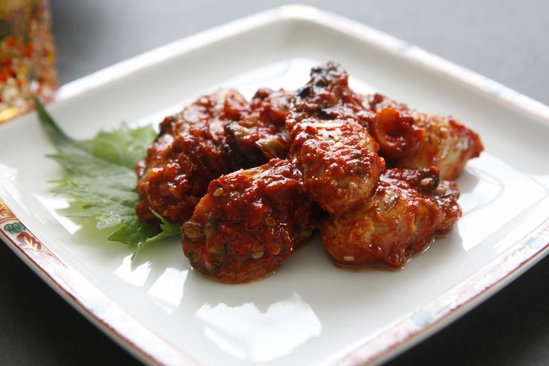 広島産蒸し牡蠣キムチ